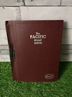 World Stamp Album Containing Collection of Stamps Hinged