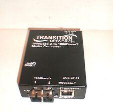 TRANSITION NETWORKS 100BASE-X TO 1000BASE-T MEDIA COVERTER J/GE-CF-01