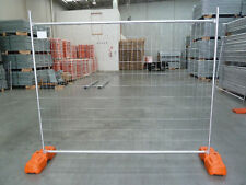 10 x Temporary Fencing Sets (Panel,Base&Clamp),fencing,temp fence,mesh panels