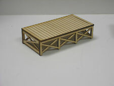 HO Scale ** Laser Cut ** Custom Loading Dock KIT