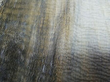 Blue latte antiqued Fringed distressed serrated relief velvety lamb Leather A1