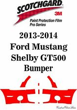 3M Scotchgard Paint Protection Film Pro Series 2014 Ford Mustang Shelby GT500