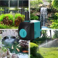 3W-25W 220V-240V Submersible Water Fountain Pump Filter Fish Pond Aquarium Pump