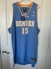 NWT Reebok Denver Nuggets Carmelo Anthony #15 Authentic Jersey Sz 3 XL