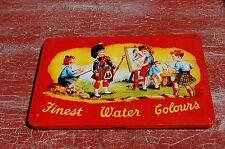 Boite de PEINTURE ancienne -  blocs de peinture à l'eau- COLLECTION---//C19//