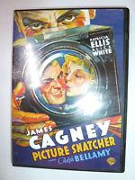 Picture Snatcher DVD classic noir crime drama movie James Cagney Ralph Bellamy!