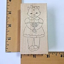Pink Ink Rubber Stamps - Miss Kittykins 2211 - NEW