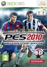 PES 2010 PRO EVOLUTION SOCCER XBOX 360 NUOVO SIGILLATO ITALIANO MICROSOFT