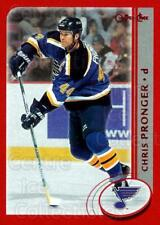 2002-03 Topps O-Pee-Chee Red Parallel #6 Chris Pronger