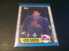 1989/90 Topps Joe Sakic Rookie Card