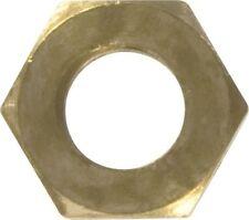 MANIFOLD NUTS-BRASS METRIC M10 x 1.25MM PITCH METRIC FINE  PACK OF 50