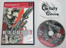 USED Metal Gear Solid 2 Sons of Liberty Sony PS2 (NTSC) -Canadian Seller-