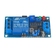 New 12V Power-ON Open Type Delay Timer Relay Module Delay Circuit Module LT