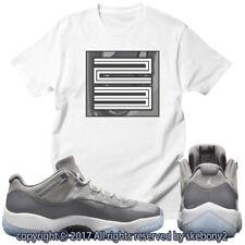 NEW CUSTOM T SHIRT Cool Grey Air Jordan 11 Lows Drop This Month JD 11-4-4