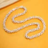 New Arrival Pure S999 Sterling Silver Chain Men Dragon Head Keel Necklace