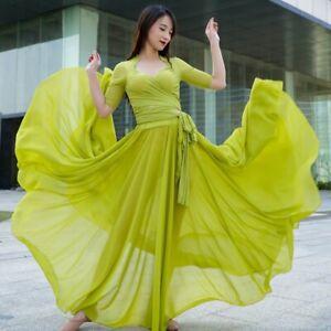 Oriental Dance Skirt  Belly-Dance  720 1000 Degree Dance Skirt Costume  Circle