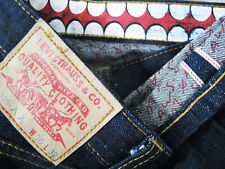 *HOT Men's LEVI'S x KAWS ORIGINAL FAKE @ 105XX REDLINE DARK SELVEDGE Jeans 30x32