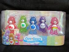 Care Bears Glitter Fun Figures Red Green Blue Purple Pink American Greetings Toy
