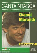 GIANNI MORANDI  - TESTI E ACCORDI USATO MINT CONDITION