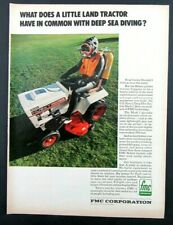 1972 FMC CORPORATION Magazine Ad - Machinery Chemicals Fibers Films