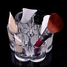 HK- Plum Blossom Clear Acrylic Makeup Brush Holder Cosmetic Organize Hot