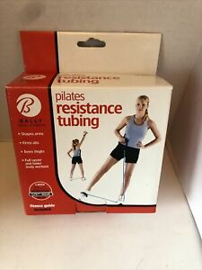 NEW Bally Pilates Resistance Tubing Fitness Guide Included