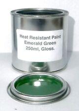 250ml Emerald Green Gloss Heat Resistant Paint Engine Caliper Brake Metal Steel