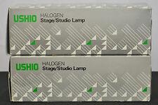 Ushio Halogen Stage Studio Lamp BVW 2K 2000 JCS120V Projector Light Bulb 2x