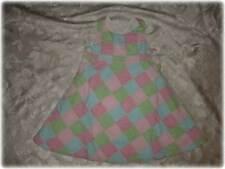 Girls GYMBOREE TENNIS MATCH Madras PATCHWORK Summer Dress 3T NWT