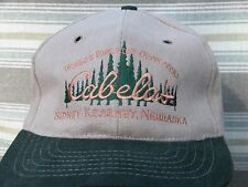 Cabela's Embroidered Deluxe Grade USA made Wool/Cotton Baseball Cap EXC+++ Cond.