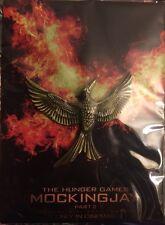 MOCKINGJAY Pin Badge The Hunger Games Part 2 Loot Crate November 2015 Combat