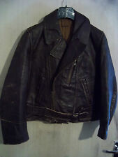 VINTAGE WW2 GERMAN LUFTWAFFE HORSEHIDE LEATHER FLYING JACKET SIZE 40""