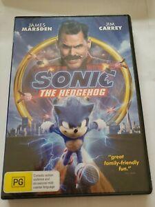 Sonic The Hedgehog Dvd Region 4 Brand New & Sealed Jim Carrey James Marsden