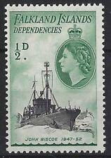 Pre-Decimal Ships, Boats British Singles Stamps