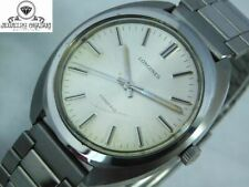 LONGINES CONQUEST SILVER HAND-WINDING MEN'S VINTAGE WATCH SWISS MADE