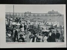 East Sussex EASTBOURNE Grand Parade & Pier - Old Postcard by B & R Series