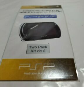 Two pack Official Sony Screen Protective Film OEM New Sealed PSP Go