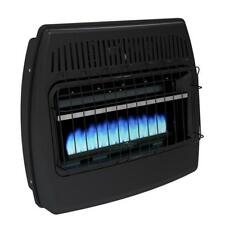 Dyna-Glo Garage Heater 30,000 BTU Blue Flame Vent Free Dual Fuel with Thermostat