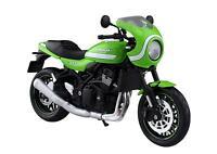 MAISTO 1/12 Finished Goods Bike Kawasaki Z900RS Cafe Vintage Lime Green W/T