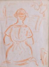 René Seyssaud (1867-1952) Portrait -P14V-