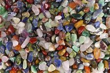 "Fantasia: 5 lbs Brazilian Tumbled Stone Mix - 0.25""-0.75"" Avg. - XX Small Rocks"
