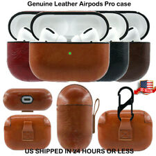 AirPods Pro Case Protective Leather Holder  For Apple Earphone Accessories