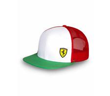 Cappello Ferrari Tricolore taglia unica regolabile 130161089400
