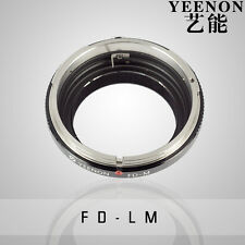YEENON Canon FD Lens to Leica M LM Mount Adapter(No rangefinder coupled )