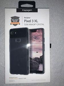 Spigen Slim Armor Crystal Series Phone Case Google Pixel 3 XL - Crystal Clear