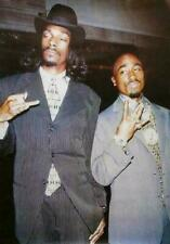 TUPAC AND SNOOP DOGG SUITS 24 X 36 POSTER
