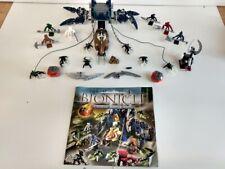 LEGO BIONICLE Visorak Battle Ram set 8757 Spare Parts Incomplete 6  Minifigures