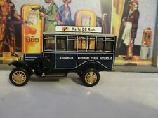 MATCHBOX COLLECTIBLES 1922 SCANIA POST BUS - STOCKHOLM YET04-M