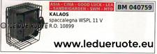 10899 Silencieux Tuyau D'Échappement Silencieux Fendeuse à Bois Kalaos Wspl 11v