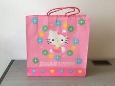 Hello Kitty Sanrio Japan 1976 1998 bolsa de regalo de papel de tarjetas Usado portador recoger